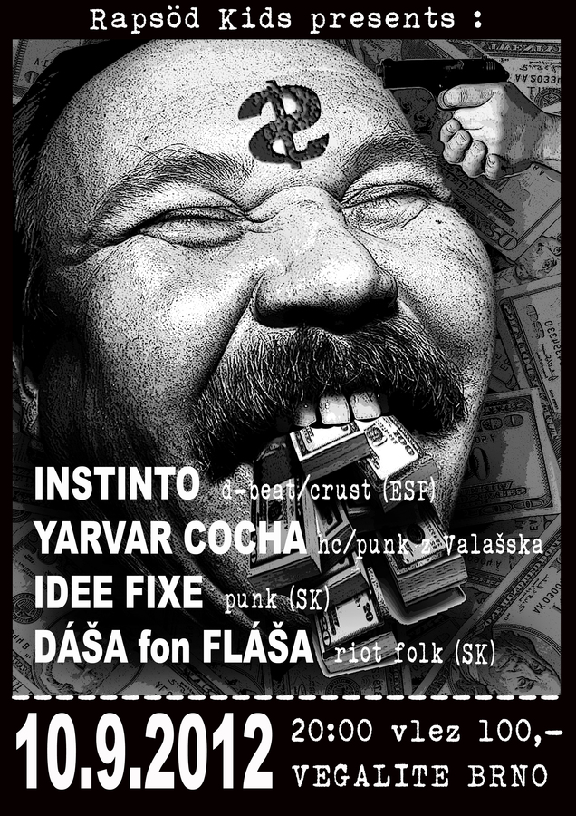Rapsd kids present: Instinto (ESP) + Yarvar Cocha (CZ) + Idee Fixe (SK) + Da fon Faa (SK) 