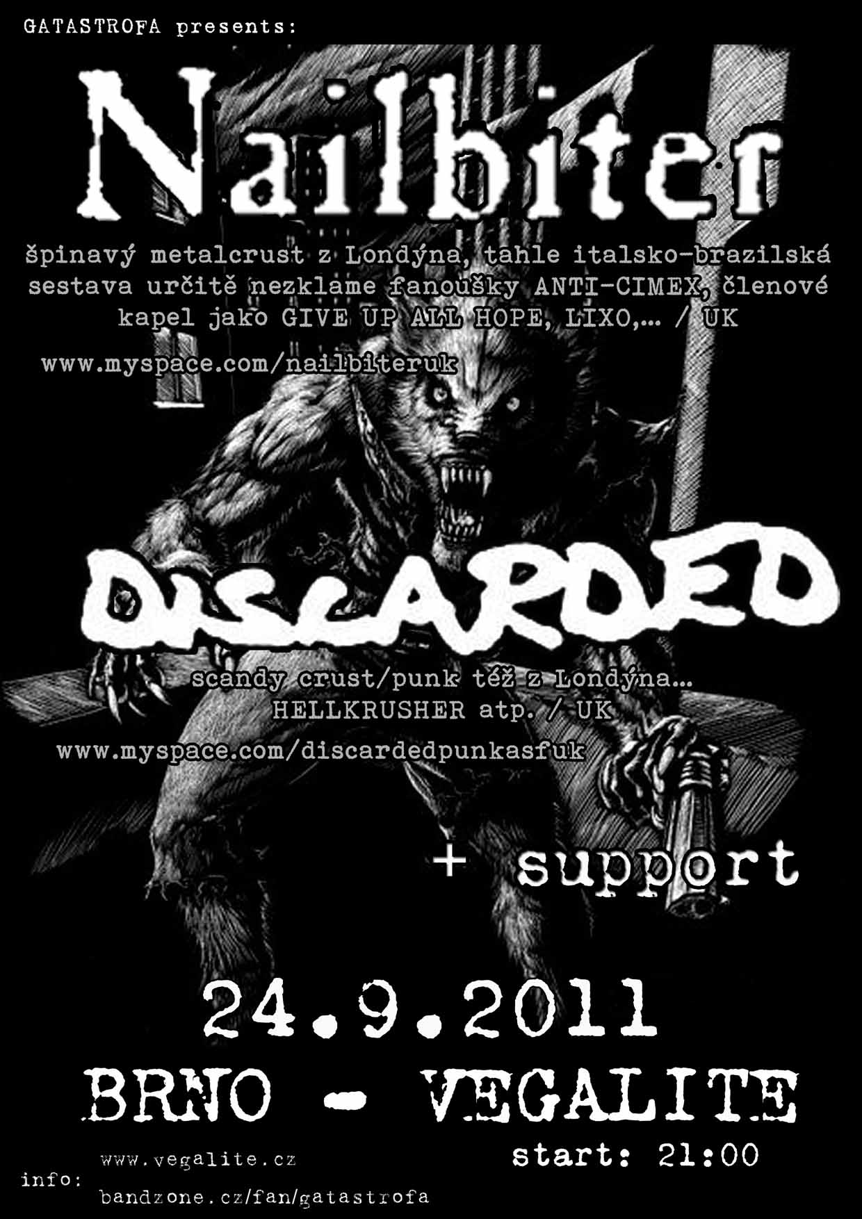 NAILBITER /uk + DISCARDED/uk + support