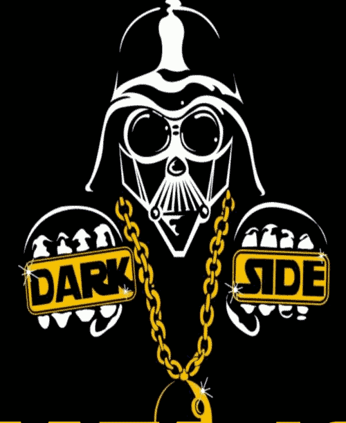 Dark side hiphop party