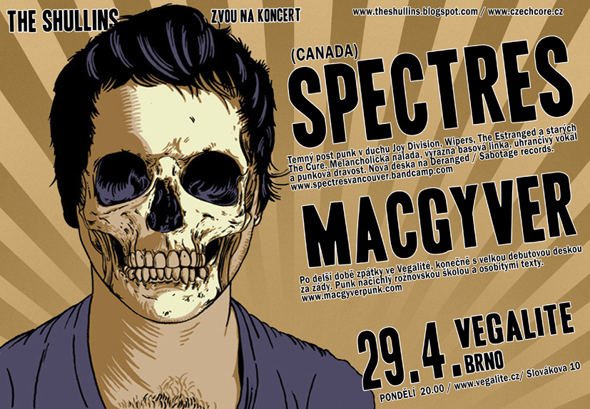 SPECTRES (CAN) + MACGYVER (CZ)